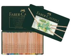 FABER CASTELL PITT PASTEL PENCIL SET/36