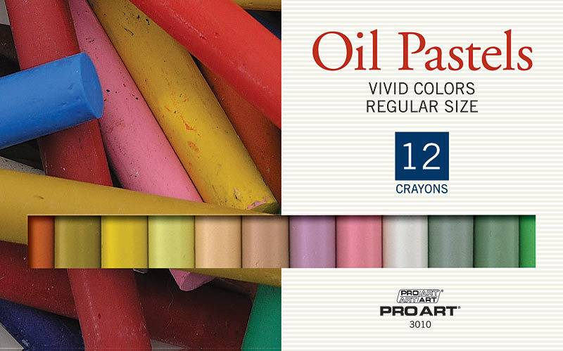 PRO ART PRO ART OIL PASTEL SET/24