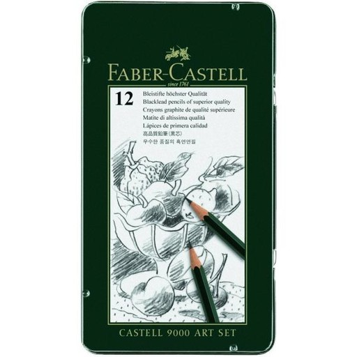 FABER CASTELL FABER CASTELL 9000 PENCIL SET/12 ART