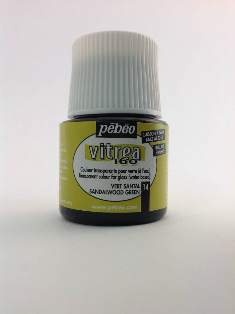 PEBEO VITREA GLOSS SANDALWOOD GREEN 45ML
