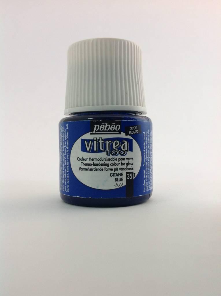 PEBEO VITREA FROSTED GITANE BLUE 45ML