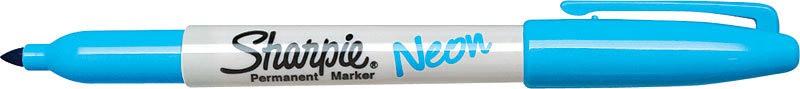 SANFORD SHARPIE NEON FINE POINT BLUE