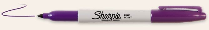 SANFORD SHARPIE FINE POINT PURPLE