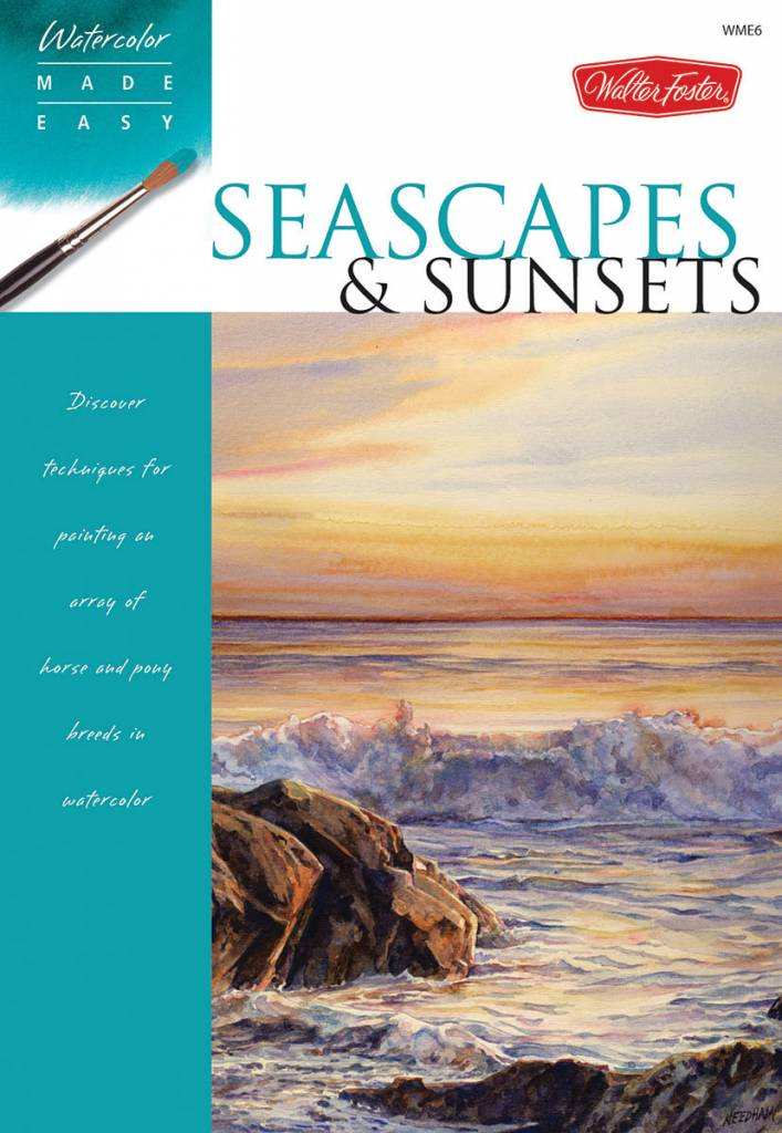WALTER FOSTER WALTER FOSTER SEASCAPES AND SUNSETS WATERCOLOR MADE EASY SERIES
