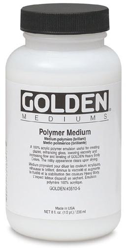 GOLDEN GOLDEN GLOSS MEDIUM 8OZ