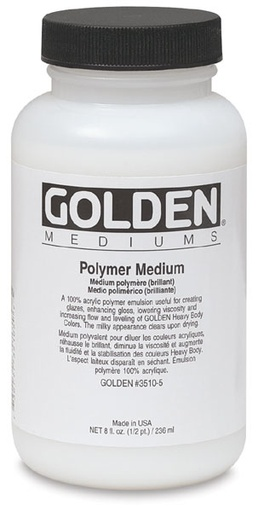 GOLDEN GOLDEN GLOSS MEDIUM 16OZ