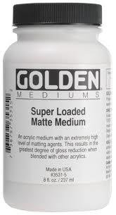 GOLDEN GOLDEN SUPER LOADED MATTE MEDIUM 8OZ