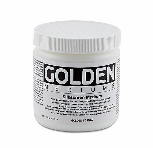 GOLDEN GOLDEN SILKSCREEN MEDIUM 8OZ