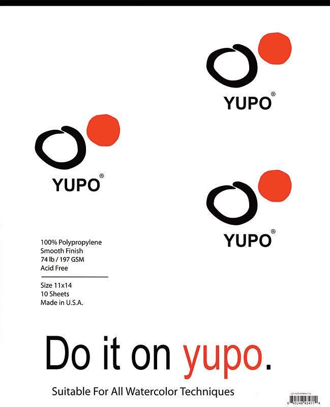 LEGION YUPO WATERCOLOUR PAPER PAD 11X14    YUP-197WH1114