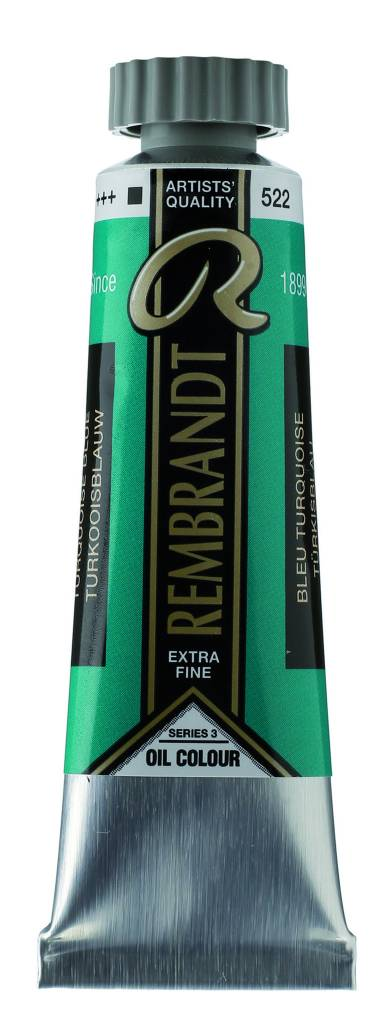 ROYAL TALENS REMBRANDT OIL TURQUOISE BLUE 40mL