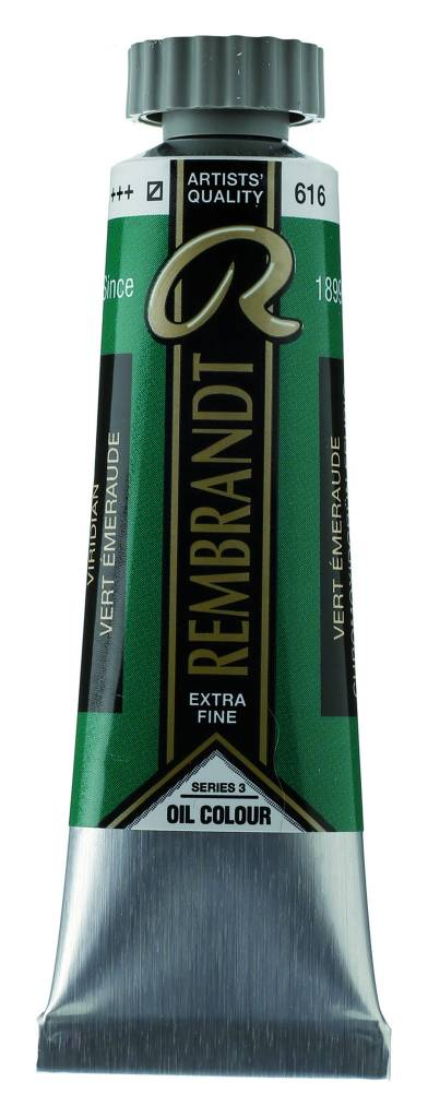 ROYAL TALENS REMBRANDT OIL VIRIDIAN 40mL