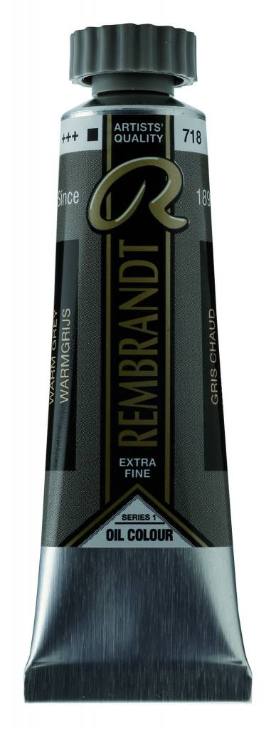 ROYAL TALENS REMBRANDT OIL WARM GREY 40mL