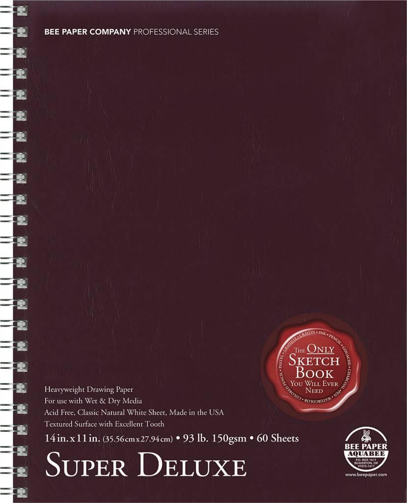 BEE PAPER BEE PAPER SUPER DELUXE SKETCH BOOK 11X14  60/SHT    808S60-1114