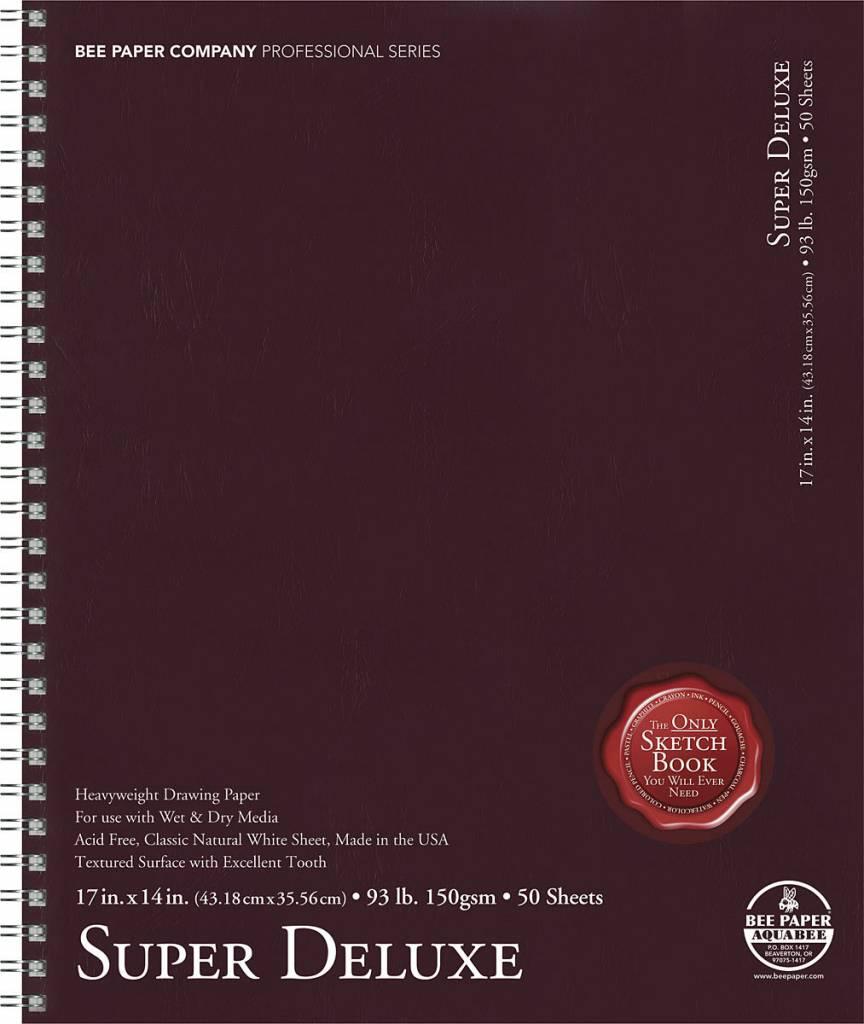 BEE PAPER BEE PAPER SUPER DELUXE SKETCH BOOK 14X17