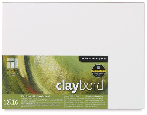 AMPERSAND AMPERSAND CLAYBORD SMOOTH 1/8'' 5X7 3/PK