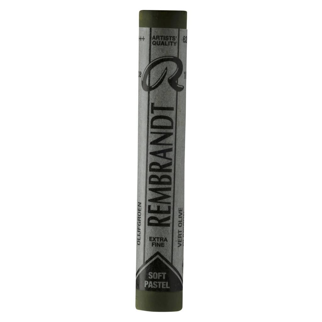ROYAL TALENS REMBRANDT SOFT PASTEL 620.5 OLIVE GREEN
