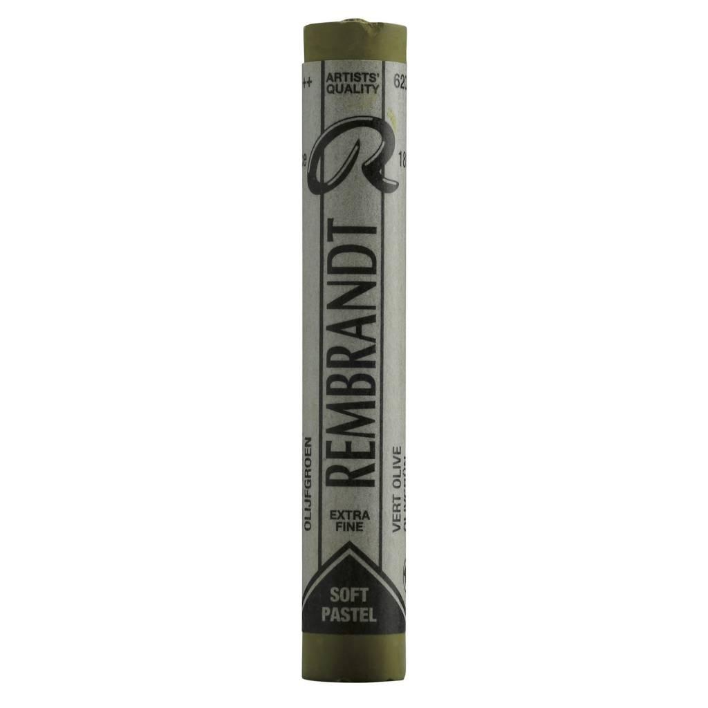 ROYAL TALENS REMBRANDT SOFT PASTEL 620.7 OLIVE GREEN