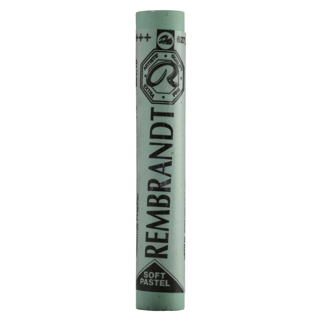 ROYAL TALENS REMBRANDT SOFT PASTEL 627.10 CINNABAR GREEN DEEP