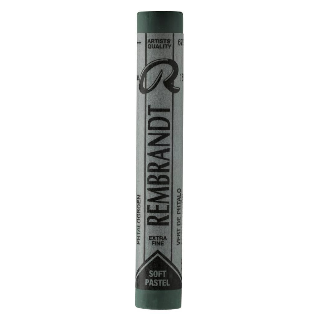 ROYAL TALENS REMBRANDT SOFT PASTEL 675.3 PTHALO GREEN