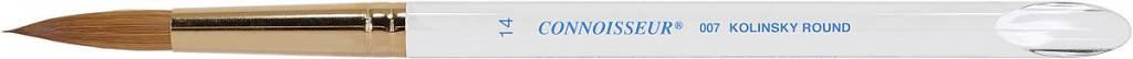 CONNOISSEUR CONNOISSEUR BRUSH SERIES 007 KOLINSKY SABLE ROUND 12