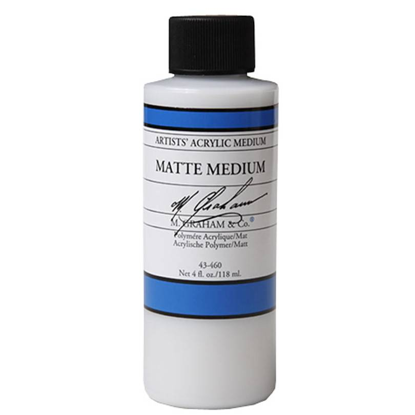M GRAHAM M GRAHAM MATTE MEDIUM & VARNISH 4OZ