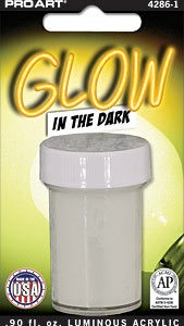 PRO ART GLOW IN THE DARK LUMINOUS ACRYLIC 0.9OZ