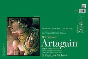STRATHMORE STRATHMORE ARTAGAIN PAD 12X18 ASSORTED    445-12