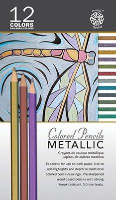 PENTALIC PENTALIC METALLIC COLOURED PENCILS SET/12