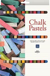 PRO ART PRO ART CHALK PASTEL SET/36