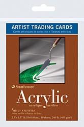 STRATHMORE STRATHMORE ARTIST TRADING CARDS ACRYLIC 10/PK