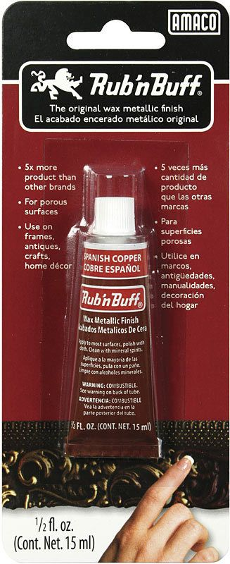 AMACO RUB N BUFF SPANISH COPPER 15ML    AMA-76368H