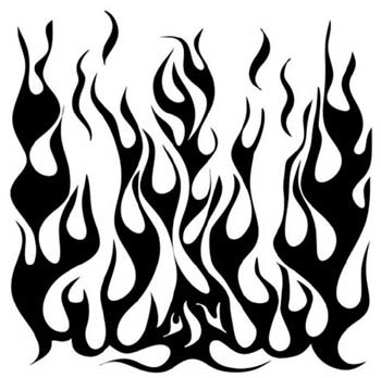 TCW258 12X12 FLAMES