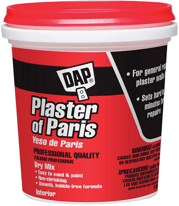 DAP PRODUCTS DAP PRODUCTS PLASTER OF PARIS TUB 4LB