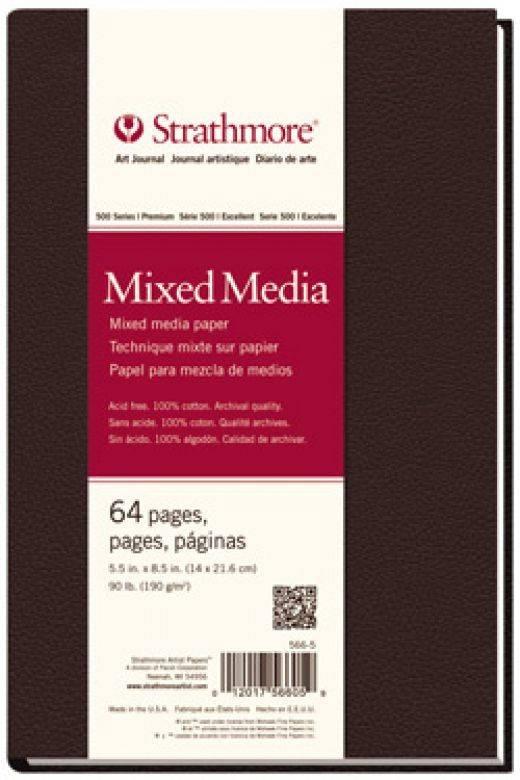 STRATHMORE STRATHMORE ART JOURNAL MIXED MEDIA HARDBOUND 11X14  90LB    STR-566-11