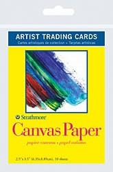 STRATHMORE STRATHMORE ARTIST TRADING CARDS CANVAS PAPER 10/PK