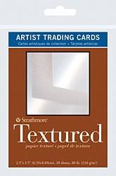 STRATHMORE STRATHMORE ARTIST TRADING CARDS TEXTURED 20/PK