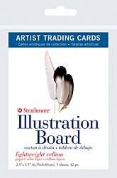 STRATHMORE STRATHMORE ARTIST TRADING CARDS ILLUSTRATION BOARD 10/PK