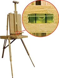 PRO ART PRO ART FRENCH STYLE EASEL WITH LEVEL    E257L