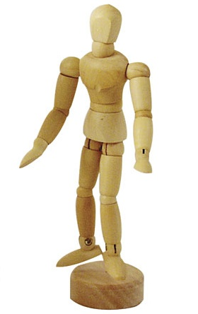 ART ADVANTAGE ART ADVANTAGE MANNEQUIN MALE NATURAL 4.5''