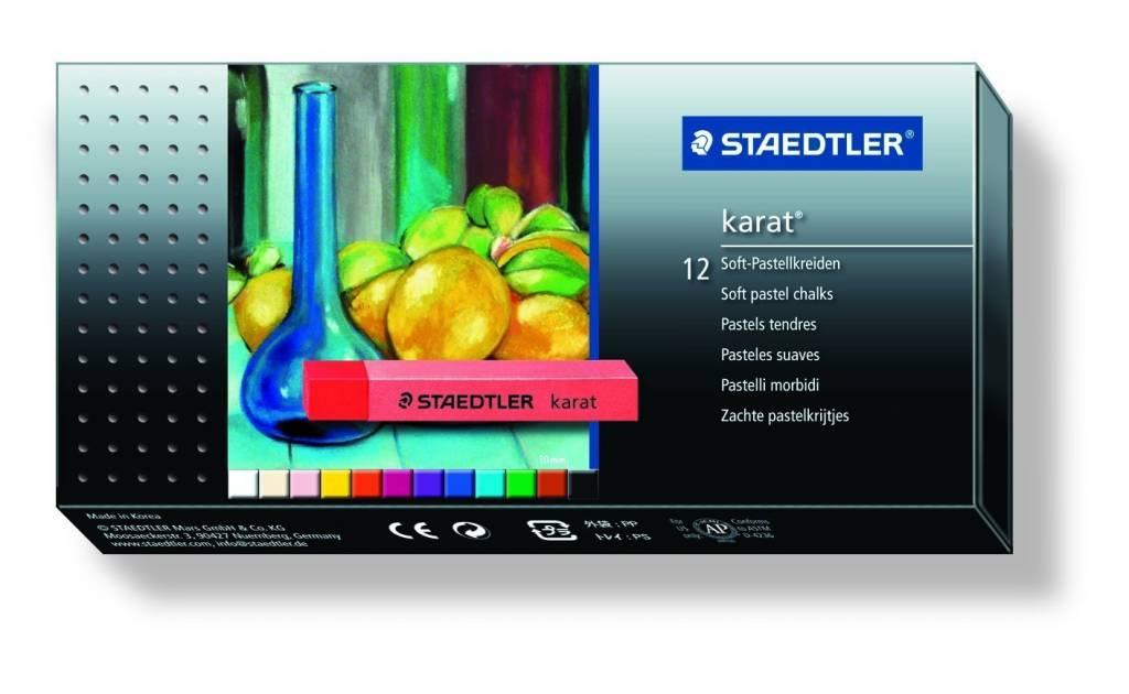 STAEDTLER STAEDTLER KARAT SOFT PASTEL 12/PK