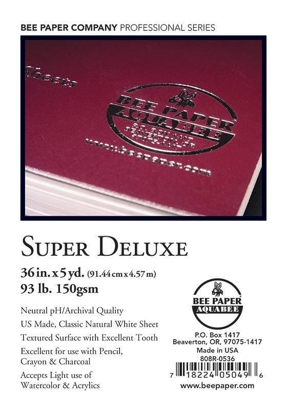 BEE PAPER BEE PAPER SUPER DELUXE SKETCH ROLL 36''X5YD