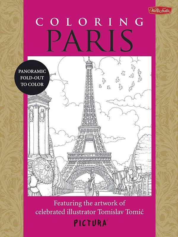 WALTER FOSTER WALTER FOSTER PICTURA COLOURING BOOK: PARIS