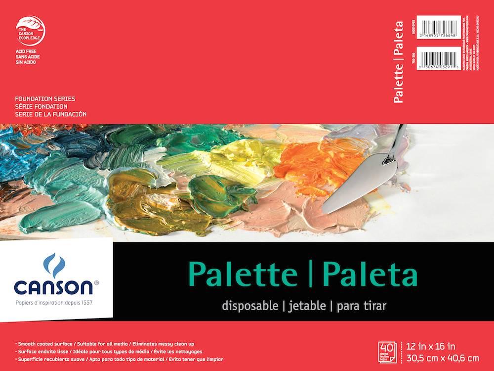 CANSON CANSON XL DISPOSABLE PALETTE 9x12