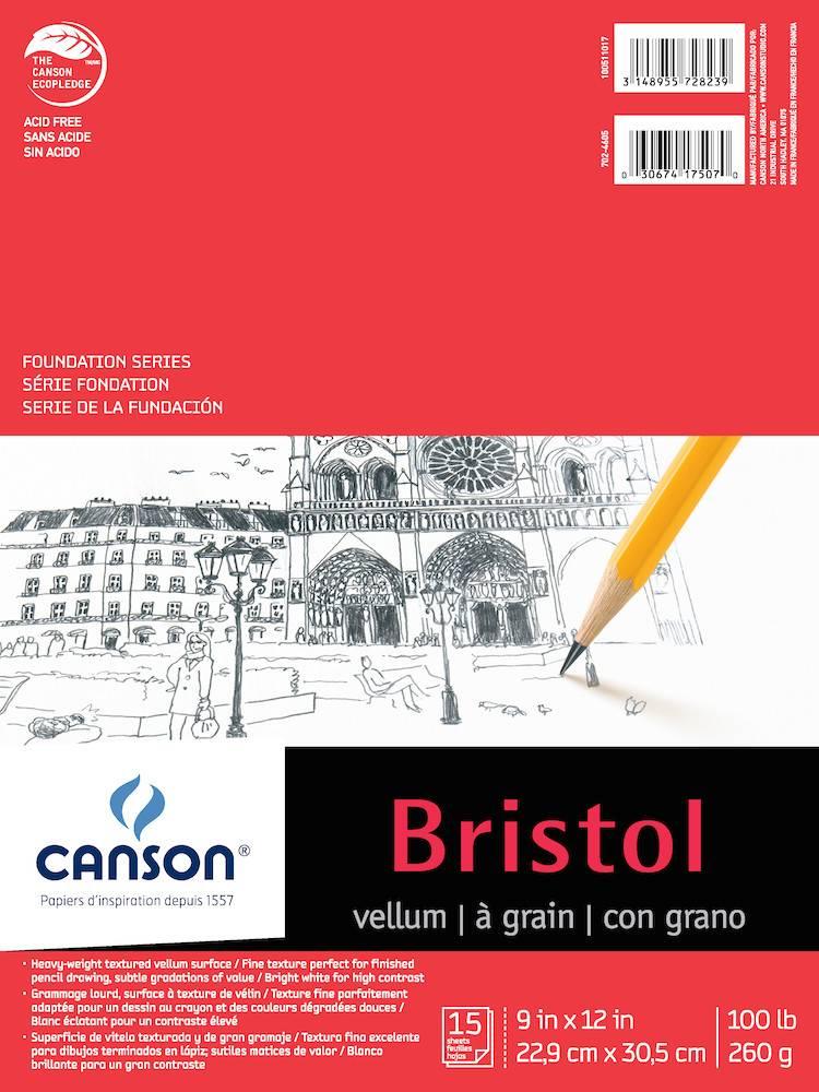 CANSON CANSON FOUNDATION BRISTOL 100lb