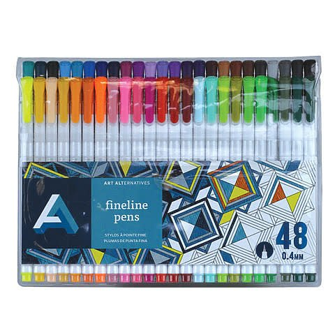 ART ALTERNATIVES ART ALTERNATIVES FINELINE PEN SET/24 AA10721
