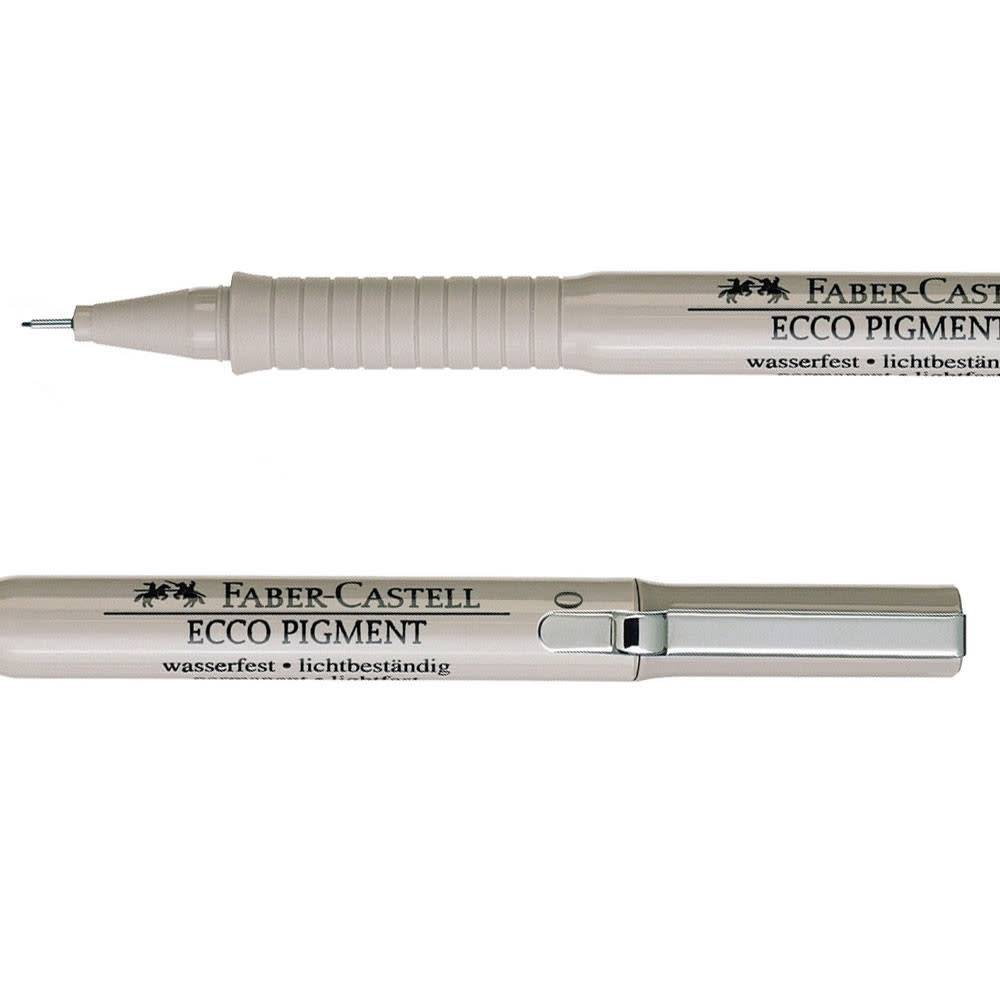 FABER CASTELL ECCO PIGMENT LINER BLACK