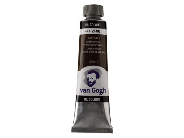 ROYAL TALENS VAN GOGH OIL COLOUR RAW UMBER 40ML