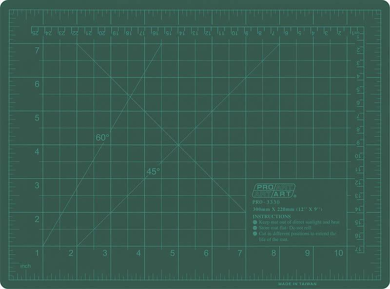 PACIFIC ARC CUTTING MAT 18x24 GREEN GB1824