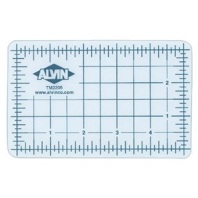 ALVIN ALVIN CUTTING MAT 8.5X12 CLEAR