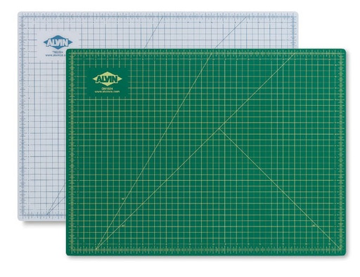 ALVIN ALVIN CUTTING MAT 9X12 GREEN/BLACK